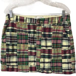 OLD NAVY Patchwork Mini Skirt SIZE 8